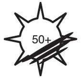 Bescherming tegen uv-straling - upf 50+ - en 13758-2: 2003+a1: 2006